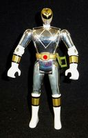"Mighty Morphin Power Rangers Movie: White Ranger Tommy (Chrome/Metallic) - 5.5"" Loose Action Figure"